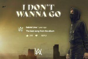 Alan Walker – I Don't Wanna Go | Official Music